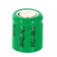1/3AA Size Rechargeable Battery 120mAh high temperature NiMH 1.2V Flat Top Cell