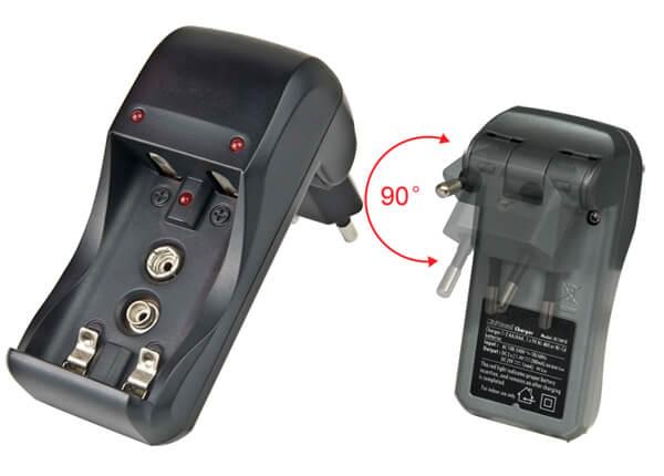 AA AAA 9V NiMH batteries charger