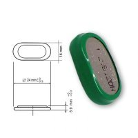 Excellent performance 1.2V 180mAh Ni-MH BUTTON CELL battery 180H 180H1A