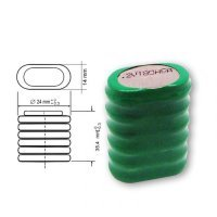 NiMH 180H 7.2 180mAh button battery for industry applications