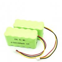 EXL Nimh battery 12v 4-5 AA 800mAh Ni-mh bATTERY PACK