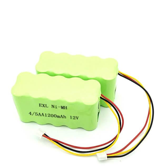 EXL Nimh battery 12v 4-5 AA 800mAh Ni-mh bATTERY PACK