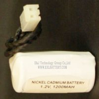 1.2V 1200mah HT nicd replacement battery for light