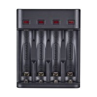 AA Battery chargers with 4 Slots charger and USB cord for AA/AAA NiCd NiMh Rechargeable Batteries 6