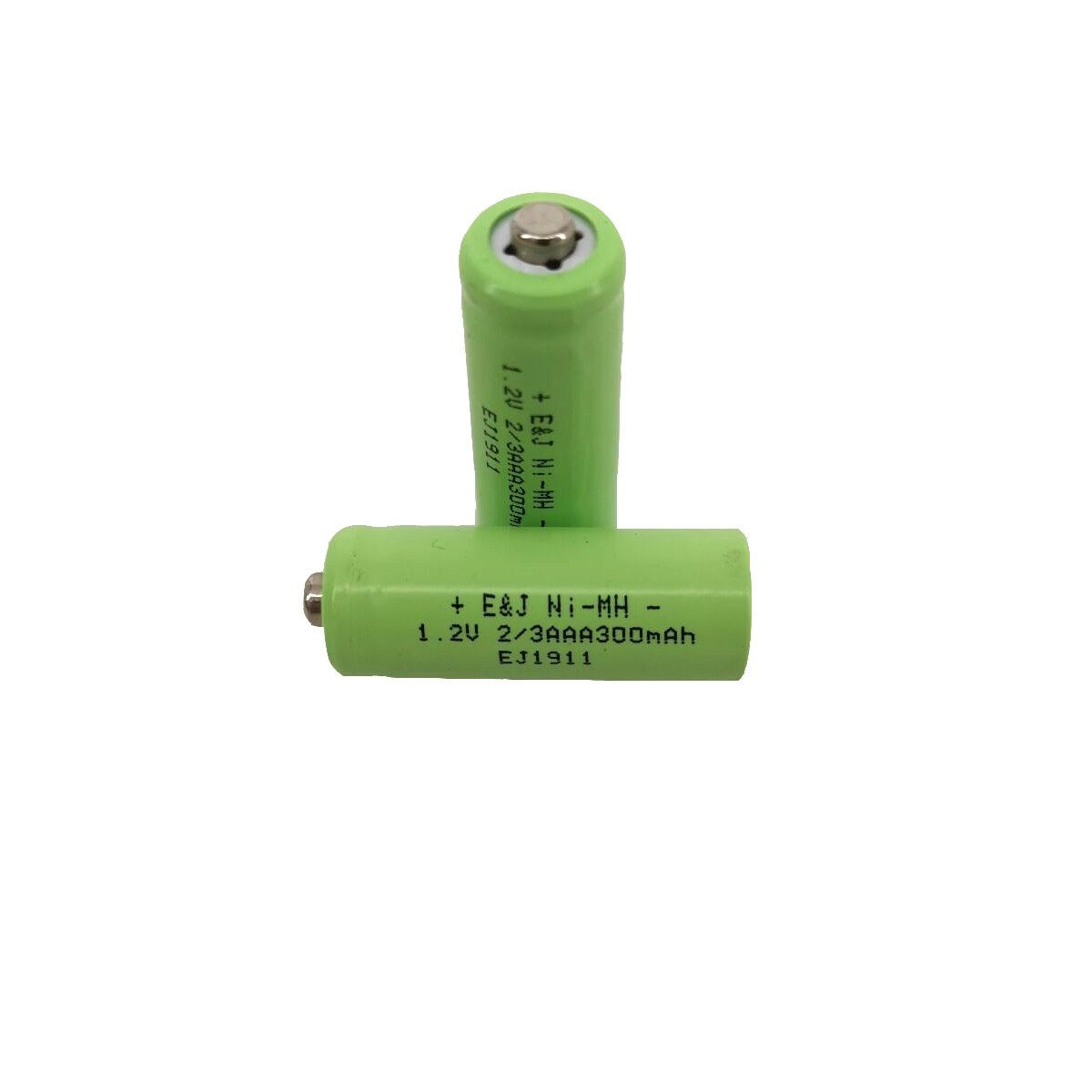 300mah 2/3 AAA Button Top Rechargeable NiMH Battery 100mah 200mah 400mah for Solar Lights 1